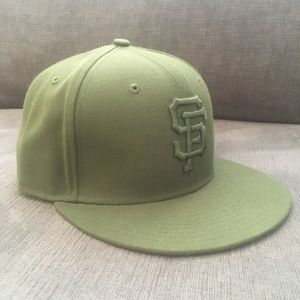 San Francisco Giants New Era Fitted Cap
